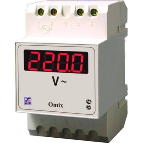 Вольтметр цифровой Omix D3-V-1-0.5