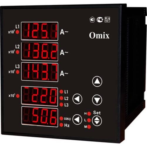 Мультиметр трехфазный щитовой Omix P99-M(AVFC)-3-0.5