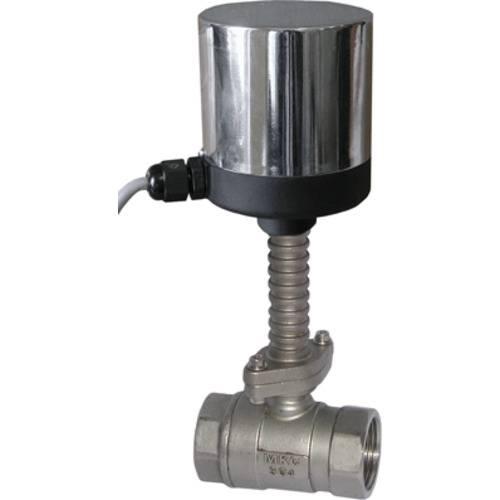 Кран шаровой регулирующий неполнопроходной с электроприводом, для пара AR-GH100-3