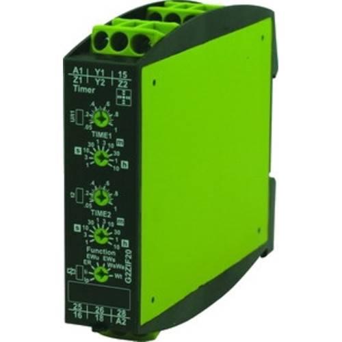 Многофункциональное реле времени G2ZIF20 24-240V AC/DC