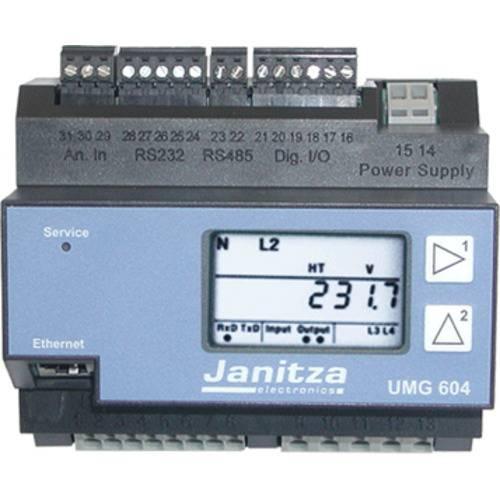 Анализатор мощности UMG 604 E