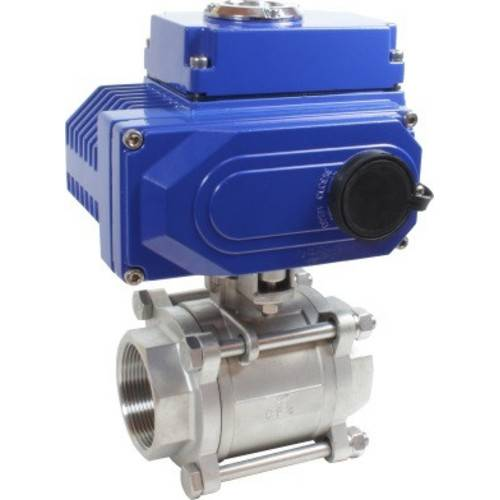 Кран шаровой КПР-3 с электроприводом
