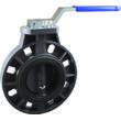 Дисковый поворотный затвор КПР-Б9 с ручным приводом