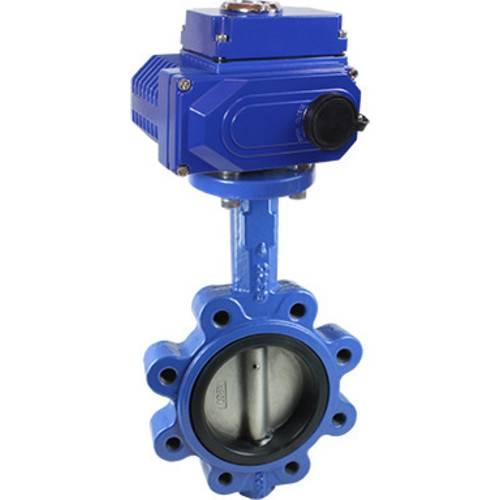Дисковый поворотный затвор КПР-Б5 с электроприводом