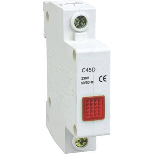 Индикаторная неоновая лампа на DIN-рейку AR-C45D